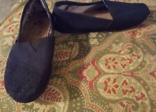 Bobs by Skechers 6 black beaded loafers flats shoes