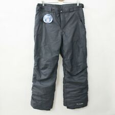 New Columbia Omni-Tech Mens Insulated Snow Pants Size M Gray