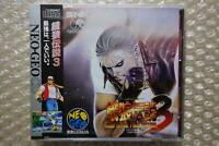 Brand New Fatal Fury 3 Neo Geo CD SNK Japanese Video Game