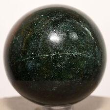 "2"" Nephrite Green Jade Sphere Natural Jadeite Mineral Ball Crystal Stone - India"