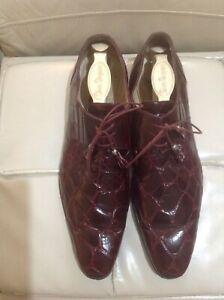 Men's Genuine Alligator Shoes
