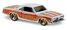 Hot Wheels Cars - '68 Plymouth Barracuda Formula S White