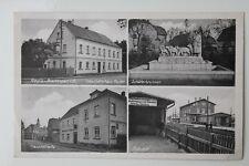 29665 AK Regis-Breitingen Geschäftshaus Paul Reuter, Hauptstraße u. Bahnhof 1940