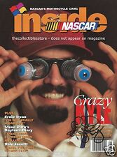 KYLE PETTY AUTOGRAPHED SIGNED MAY/JUNE 1998 INSIDE NASCAR RACING PHOTO MAGAZINE