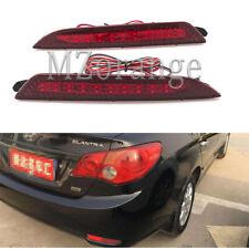 Pair For Hyundai Elantra 2008-2010 2011 LED Rear Bumper Light Car Lamp Reflector