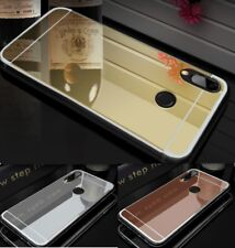 Funda para Xiaomi Mi A1 A2 A3 / Lite gel espejo metalizado + cristal opcional