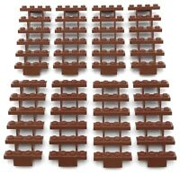 Lego 8 New Reddish Brown Stairs 7 x 4 x 6 Straight Open Steps Parts