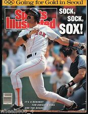 Sports Illustrated 1988 Boston Red Sox Dwight Evans No Label Excellent