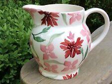EMMA BRIDGEWATER Pink Cornflower .1/2 pint JUG . spongeware
