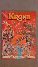 Zirkus Programm Krone 1990