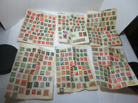 vintage mixed lot worldwide world stamps retro decor philatelic collectible
