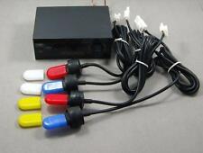Stroboskop Blitzer 4er Set sehr hell für 12V PACE CAR Blitzer