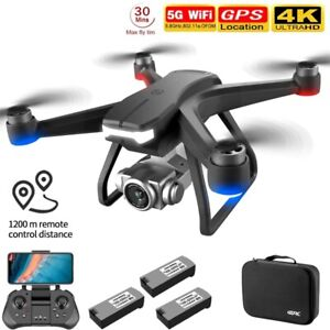Professional Drone F11 Pro 4K Dual HD Ultra Clear Camera GPS RC Quadcopter 1200m