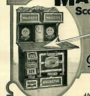 1905 Majestic Range Stove Charcoal Steel Iron Plates Decals Labels Print Ad 5070