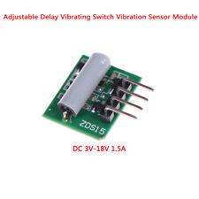 Adjustable delay vibrating switch vibration sensor module alarm DC 3V-18V 1 Hs