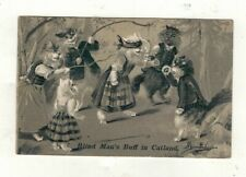 More details for  old postcard anthropomorphic cats .blind mans buff, by m.boulanger.pu.1905