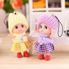 5 Pcs Kids baby Toys Soft Interactive Baby Dolls Toy Mini Doll For Child