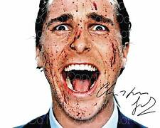 American Psycho Christian Bale 8X10 photo picture signed autograph RP