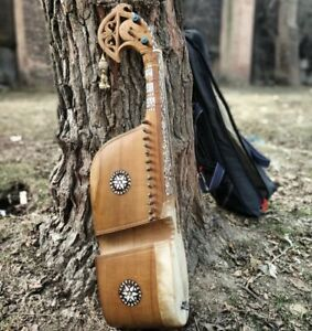 Afghan Rabab Musical Instrument Free deleivery with ( GigBag,Pick,ExtraStrings )