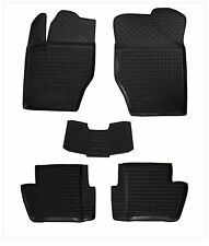 Rubber Car Floor Mats All Weather Alfombras Goma Carmats PEUGEOT 408 2012-