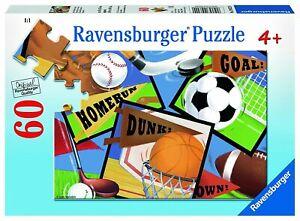 Ravensburger Sports! Sports! Sports! 60pc Puzzle