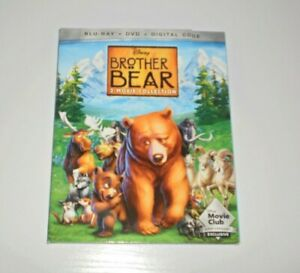 Disney Brother Bear [2-Movie Collection] DMC EXCLUSIVE (Blu-Ray, DVD)