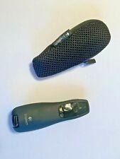 New ListingEuc Logitech Wireless Presenter R400 With Laser Pointer & Zippered Storage Case