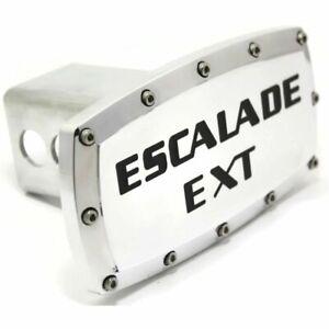 "Cadillac Escalade EXT Billet 2"" Tow Hitch Cover Plug Engraved Billet Aluminum"