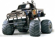 Tamiya 58365 Midnight Pumpkin Chrome RC Kit - DEAL BUNDLE with STEERWHEEL Radio