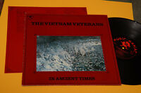 Vietnam Veterans LP IN Ancient Times 1° St Orig Germany 1986 NM Insert Garage