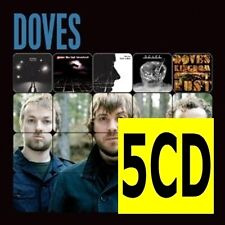 DOVES 5CD NEW Lost Souls/Last Broadcast/Lost Sides/Some Cities/Kingdom Of Rust