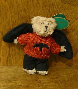 Bearington Plush Ornament #1844 RADAR, NEW w/ Tag From Retail Store, HALLOWEEN