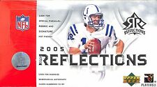 2005 Upper Deck Reflections NFL SEALED HOBBY BOX 12 packs/ box 4 cards/ pack