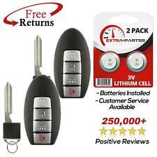 2 For 2007 2008 2009 2010 2011 2012 Nissan Sentra Keyless Entry Key Fob Remote