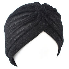 Indian Style Unisex Wemen Men Stretchable Turban Hat Hair Head Wrap Cap Headwrap