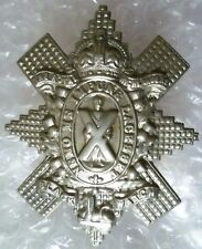 WW1 Royal Highland (Black Watch) Regiment Cap Badge/Black watch Badge (WM,Org*)