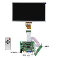 "9"" inch LCD Screen Display Panel  800×480 HDMI VGA 2AV Controller+Remote Control"