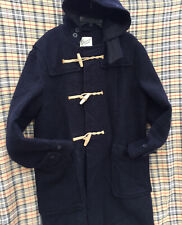 GLOVERALL Monty Duffle Coat Navy Blue Size M
