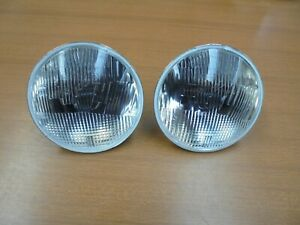 Alfa Romeo Montreal Pair Lights External Beam Towing