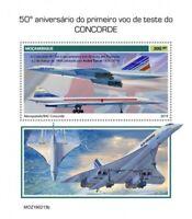 Mozambique - 2019 Concorde Anniversary - Stamp Souvenir Sheet - MOZ190213b