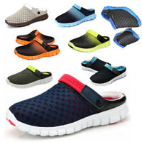 Men Women Summer Casual Shoes Mesh Breathable Sandals Couples Beach Slippers