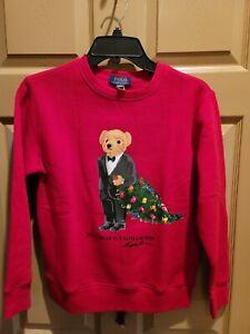 Polo ralph lauren Boys Bear Sweatshirt