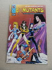 Ex- Mutants 2 .The Shattered Earth ... Eternity 1986 - VF - minus