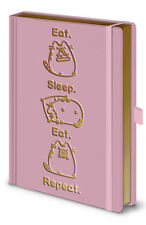Pusheen (Eat, Sleep, Eat, Repeat) OFFICIALLY LICENSED Premium A5 Notebook *NEW*