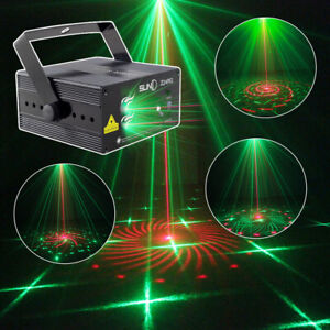SUNY DJ Stage Light 3 LENS 24 Patterns Gobo(s) RG Laser Light Manual / Remote