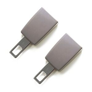 Mini Seat Belt Extension [2-pack] - E4 Safety Certified, Gray, Type A - Click&Go