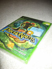 Tim Schafer's Psychonauts, first print/black label (Xbox/360/One/X) NIP new RARE