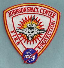 NASA JOHNSON SPACE CENTER TEXAS FIRE DEPARTMENT PATCH