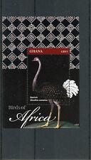 Ghana 2012 MNH Birds of Africa 1v S/S Ostrich