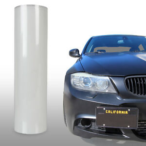 "Protection Clear Bra Paint Film Vinyl Sheet Bumper Headlight Hood 12"" x 48"" - VW"